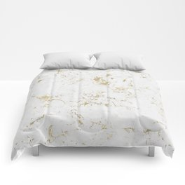 Marble Gold Mine Comforters