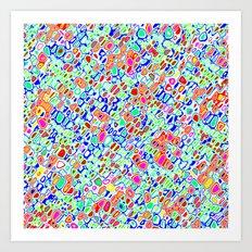 Rhythmic Cloud 10 Art Print