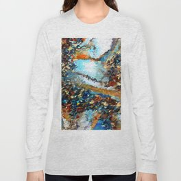 Agate Geode Abstract Long Sleeve T-shirt