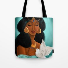 Her royal highness, the Sultana Jasmine Tote Bag