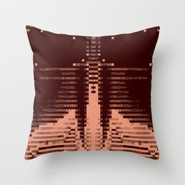 Enthusiastic Christian Barbarians Throw Pillow