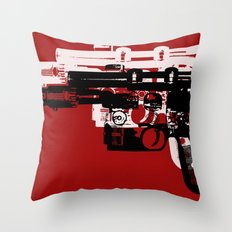 Blaster II Throw Pillow
