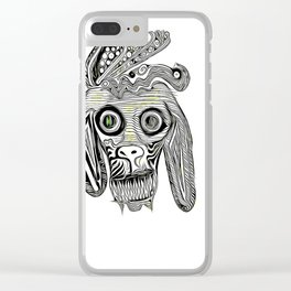 Mad Dog Clear iPhone Case