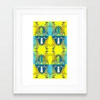greek Framed Art Prints featuring Greek by Keith Cameron