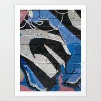 graffiti Art Prints featuring Graffiti by Electric Avenue