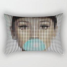 Audrey Hepburn poster Rectangular Pillow