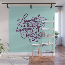 L'imagination Wall Mural