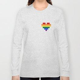 LGBT Heart Long Sleeve T-shirt