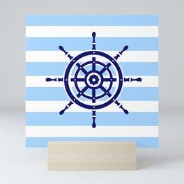 AFE Nautical Helm Wheel Mini Art Print