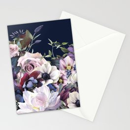Dutch Style - Dark Moody Floral Stationery Cards