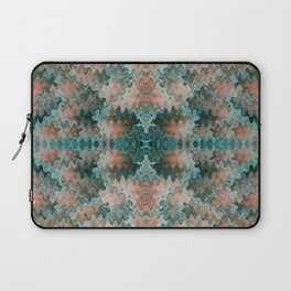 South Western Abstract Mirrored Wavy Pattern Laptop Sleeve