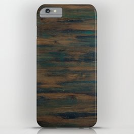 Beautifully patterned stained wood iPhone Case