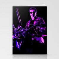 terminator Stationery Cards featuring Terminator (T2) by Ambady