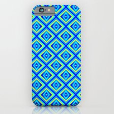 Blue Diamonds iPhone 6s Slim Case