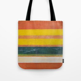 Stripe Painting #6 (The Beach) Tote Bag