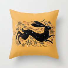 LEPUS Throw Pillow