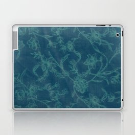 Flower Pattern (Green version) Laptop & iPad Skin