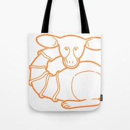 Medieval Cutie Tote Bag