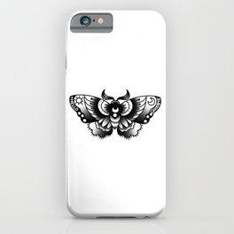 ouija moth iPhone Case
