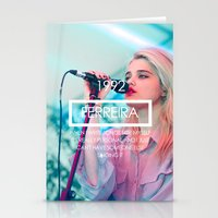 sky ferreira Stationery Cards featuring Sky Ferreira by ScarTissue
