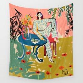 POPPY SEASON Wall Tapestry
