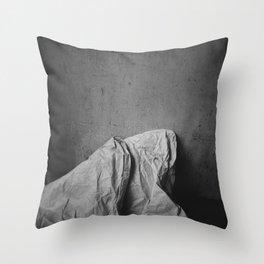 snow cap Throw Pillow