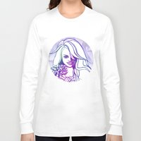 outer space Long Sleeve T-shirts featuring Outer space by Lindella