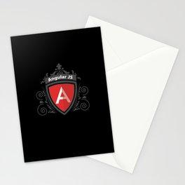 AngularJS Vintage Royal Design Stationery Cards