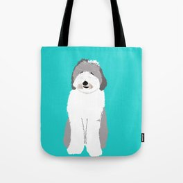 Lucy The Sheepadoodle Tote Bag