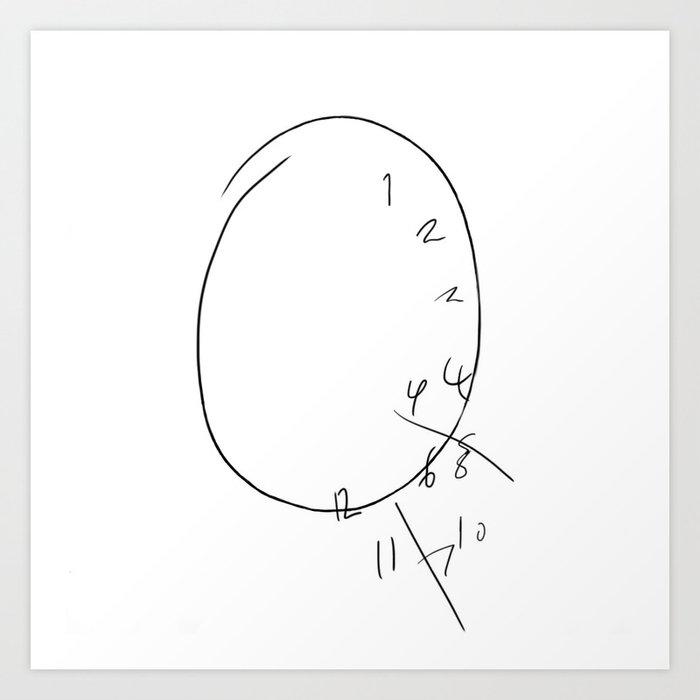 Will Graham - The Clock Kunstdrucke