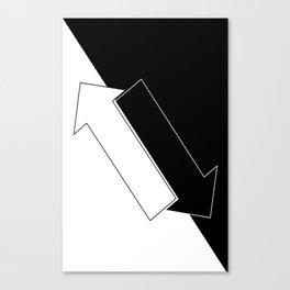 Arrows Canvas Print
