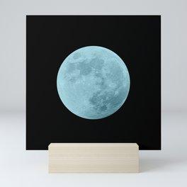 BLUE MOON // BLACK SKY Mini Art Print