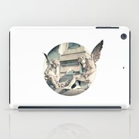 angels iPad Cases featuring Angels by There is no spoon