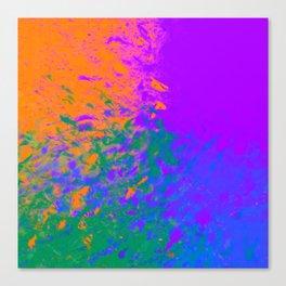 Iridescent Fury Canvas Print