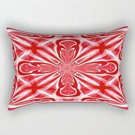 Red Cross Rectangular Pillow