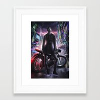 moto Framed Art Prints featuring Moto by LOOSE GERMS