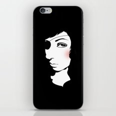 Pirate Girl iPhone & iPod Skin