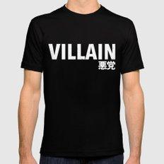 Villain 悪党 MEDIUM Mens Fitted Tee Black