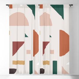 Abstract Geometric 30 Blackout Curtain