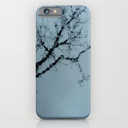 Tree, sky and water. iPhone Case