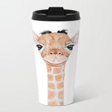 Little Giraffe Metal Travel Mug