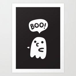 Cute ghosts Art Print
