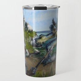 Lake Monster Travel Mug