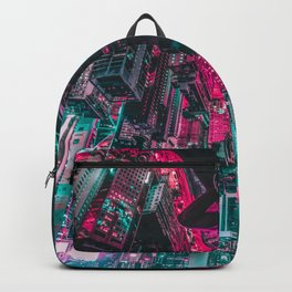Cyberpunk Mask Backpack