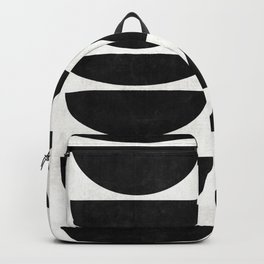 Mid-Century Modern Pattern No.9 - Concrete Backpack