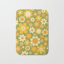 Sunny Side Up (big flowers) Bath Mat