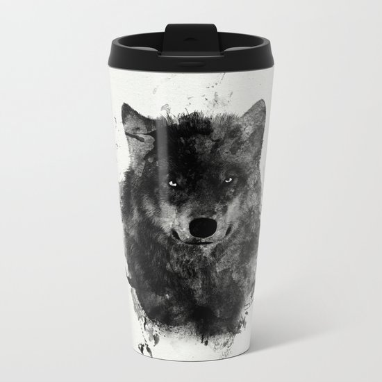 We are all Wolves Metal Travel Mug