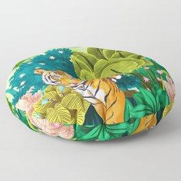 Jungle Tiger Floor Pillow