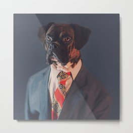 Chairman, Milo ze Dog Metal Print