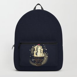 Ice Cream Bears (Dark Blue) Backpack